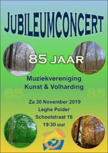 Jubileumconcert Kunst & Volharding
